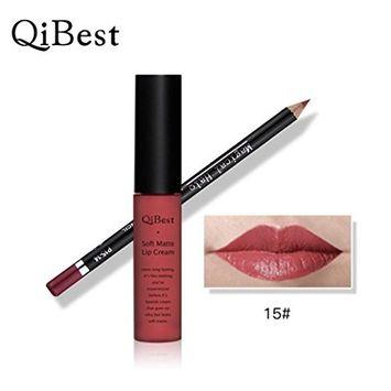 RNTOP Waterproof Pencil Long Lasting Lipliner With Lipstick perfect combination