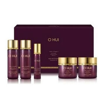 OHUI Age Recovery Miniature 5EA Kit (baby collagen / Anti wrinkle Intensive firming) Trial Sample Kit