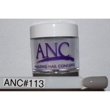 ANC Dipping Powder 1 oz #113 Light Charcoal Gray