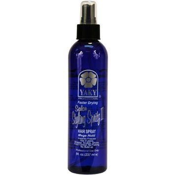 Yaky Spritz II Hair Spray - Mega Hold 8 oz.