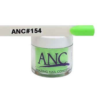 ANC Dipping Powder 1 oz #154 Neon Green