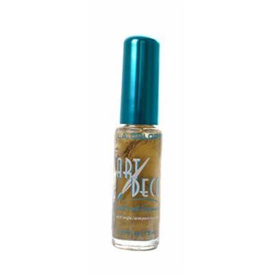 L.A. Colors 5 Pcs Nail Art Nail Deco Nail Lacquer Nail Polish Gold Rush