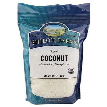 Shiloh Farms: Shredded Coconut 12 Oz (6 Pack)