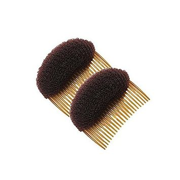 2PCS 23 Teeth Hair Fringe Volume Bump Up Inserts Tools-Hair Pin Hair Styling Clip Hair Charming Insert Do Beehive Tool Maker Hair Comb Hair Style Accessories