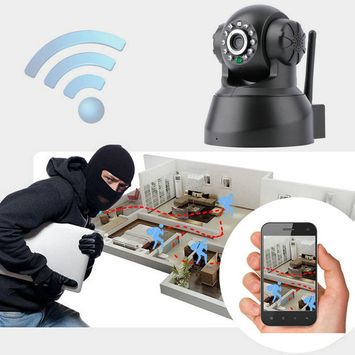 Wireless IP Camera, 720P HD Indoor Home Security Surveillance WiFi Camera with Motion Detection, Pan/Tilt, Two Way Audio, Night Vision, Baby Monitor, Nanny Cam