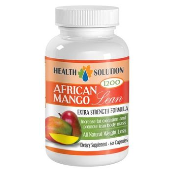 Fat burner for men weight loss - AFRICAN MANGO EXTRACT (1200Mg) - African mango plus diet pills - 1 Bottle 60 Capsules