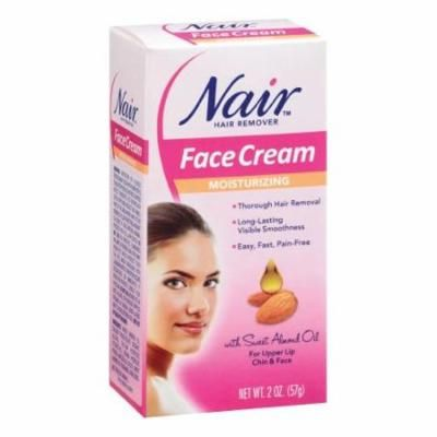 6 Pack - Nair Hair Remover Moisturizing Face Cream 2 oz Each