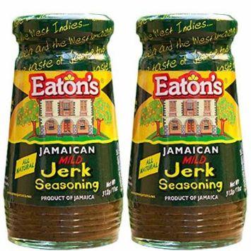 Eaton's Jerk Seasoning (Mild) (Pack of 2)