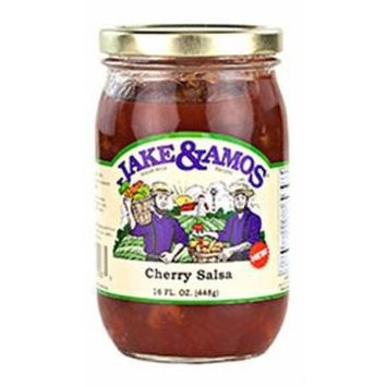 Jake & Amos Cherry Salsa 16oz - Two Pack