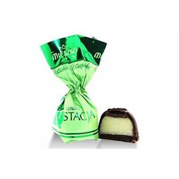 Mieszko, Dk Chocolate Praline with Pistachio (1.250 Lbs)