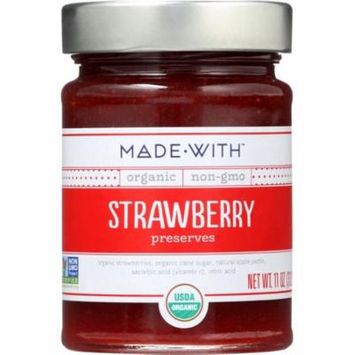 Made With Strawberry Preserves, 11 Oz (Pack Of 6)