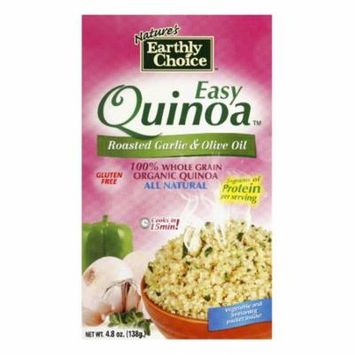Natures Earthly Choice Easy Roasted Garlic Olive Oil Quinoa, 4.8 OZ (Pack of 6)