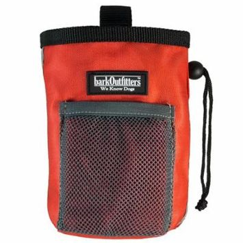 Dog Treat Pouch - Bag Can Carry Snacks and Toys - Professional Quality Pouch Available in Red, Orange and Blue - by barkOutfitters
