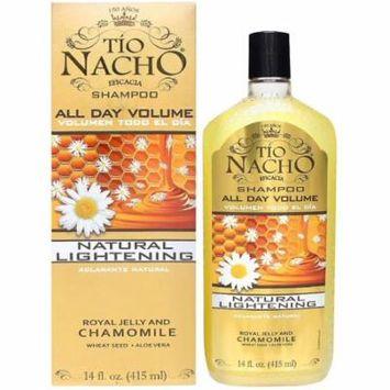TIO NACHO Natural Lightening & Volumizing Shampoo 14 oz (Pack of 6)