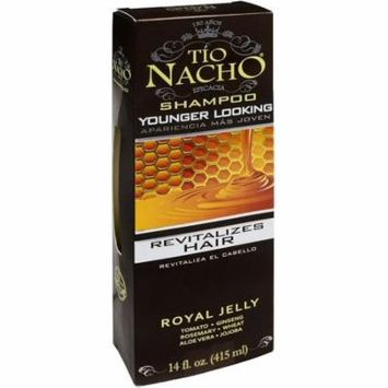 TIO NACHO Younger Looking Royal Jelly Shampoo 14 oz (Pack of 6)