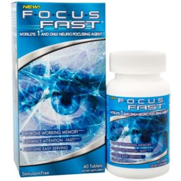 Focus Fast (40 Tablets) by Enyotics Health Sciences Inc. at the Vitamin Shoppe