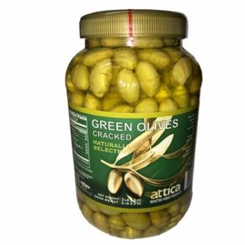 ATTICA Green Olives Cracked 3,58 Lbs