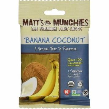 Chef Roberts Matt's Munchies Fruit Snack, 1 oz
