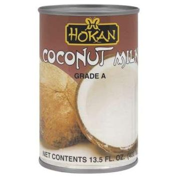 Hokan, Coconut Milk Grda, 13.5 OZ (Pack of 12)