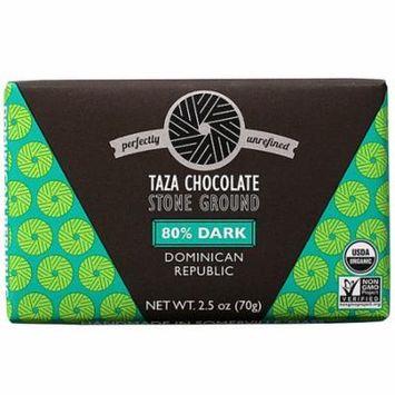 Taza Chocolate Organic Stone Ground Chocolate 80% Dark -- 2.5 oz pack of 1