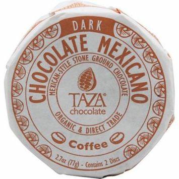 Taza Chocolate Organic Chocolate Mexicano Disc Coffee -- 2.7 oz pack of 6