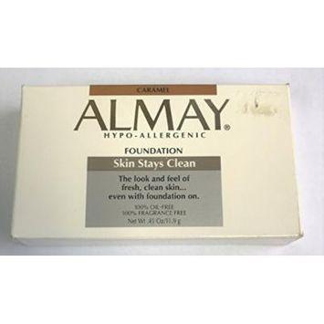 Almay Skin Stays Clean Foundation Powder - Caramel