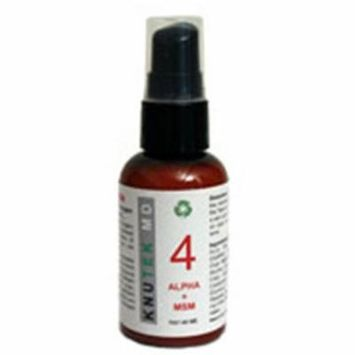 kNutek Alpha + MSM Face and Throat Cream, 2 oz (60 ml)