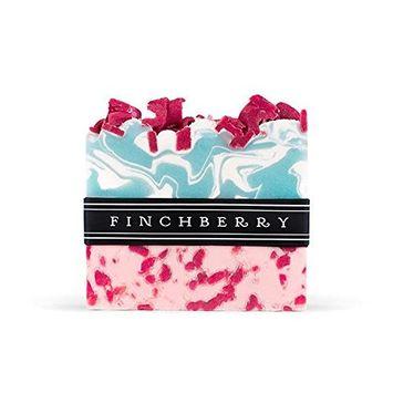 FinchBerry Apple-y Ever After Soap - Handcrafted Vegan Soap -Crisp Fresh Scent of Apple | 1 Bar