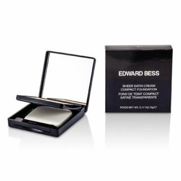 Edward Bess - Sheer Satin Cream Compact Foundation - #01 Light -5g/0.17oz