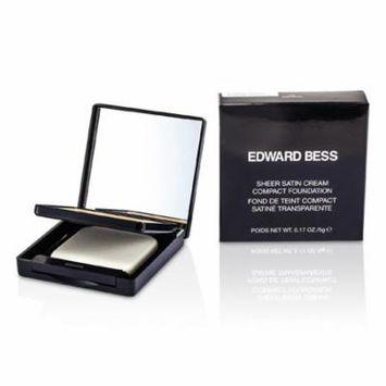 Edward Bess - Sheer Satin Cream Compact Foundation - #05 Natural -5g/0.17oz
