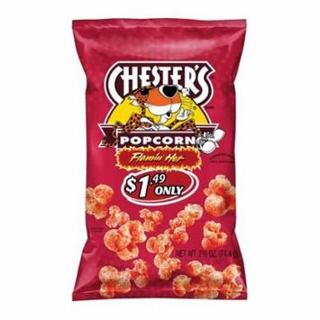 Chester's Flamin' Hot Flavored Popcorn (0.875 oz. 48 ct.)