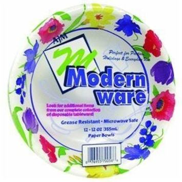 Modern ware Paper Bowl - Smart Savers(Pack of 24)