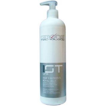 Simone Trichology Hairs Nutrients Royal Jelly Nutritive Shampoo for Devitalized Haris 16.9oz