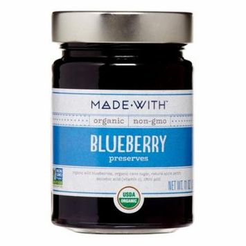 Made With Organic Preserves, Blueberry, 11 Oz
