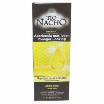 Tio Nacho Royal Jelly Revitalizing Shampoo 415ml - Jalea Real Revitalizando Champu (Pack of 12)