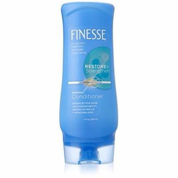 Finesse Restore + Strengthen Normal Conditioner Active Proteins 13 Oz
