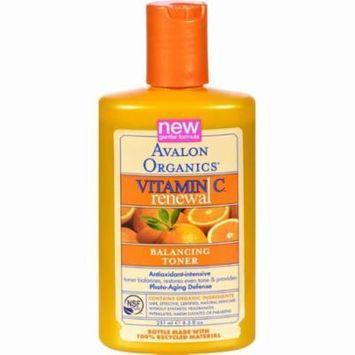 Avalon Organics Balancing Toner Vitamin C Renewal - 8.5 Fl Oz