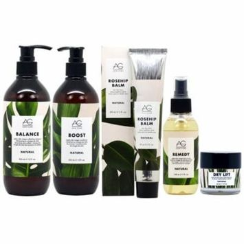 AG Hair Natural Plant-Based Wellness for Your Hair 5-piece Collection