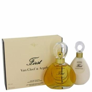FIRST by Van Cleef & ArpelsGift Set -- 2 oz Eau De Parfum Spray + 1.6 oz Body Lotion-Women