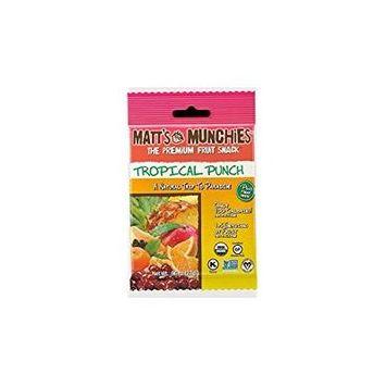 Matt's Munchies The Premium Fruit Snack Tropical Punch 96 Oz. Pk Of 3.