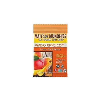 Matt's Munchies The Premium Fruit Snack Mango Apricot 1 Oz. Pk Of 3.
