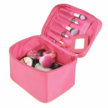 Portable Travel Foldable Cosmetic Case Makeup Bag Toiletry Storage Organizer GlSTE