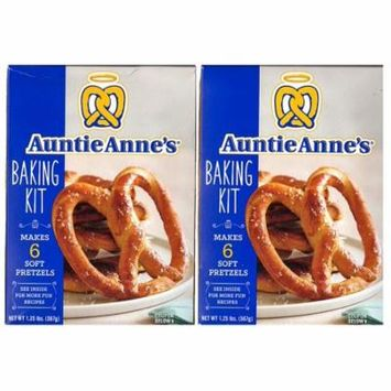 Auntie Annes Make Your Own Pretzel Kit- 1.25 Pound Box (2 Boxes)