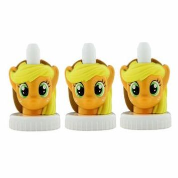 good2grow spill-proof bottle toppers 3-pack, My Little Pony - Applejack