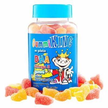 Gummi King, DHA Omega-3 Gummi for Kids, 60 Gummies(pack of 4)