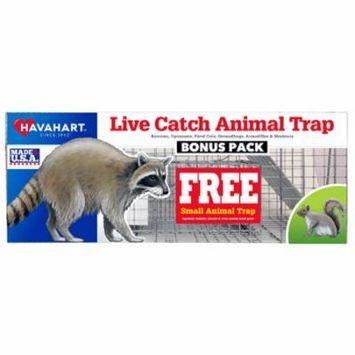 Professional Live Animal Cage Trap Bonus Pack, 32 x 10 x 12-In.