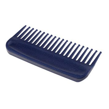 Baoblaze Plastic Hair Comb Pocket, Wide Tooth Hairbrush Detangler Comb - Blue