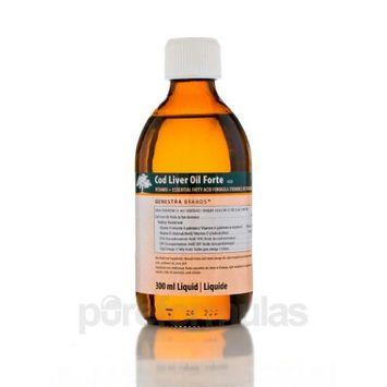 Genestra Brands - Cod Liver Oil Forte - Vitamin + Essential Fatty Acid Supplement - 10.1 fl oz (300 ml)
