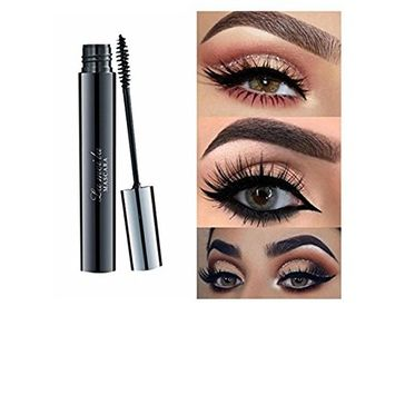 FTXJ Mascara Long Black Lash Eyelash Extension Waterproof Eye Makeup Tool
