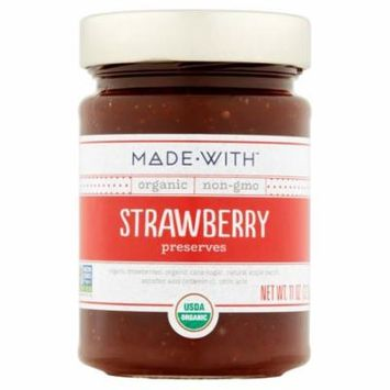 Made With Preserve Strawberry Org,11 Oz (Pack Of 6)